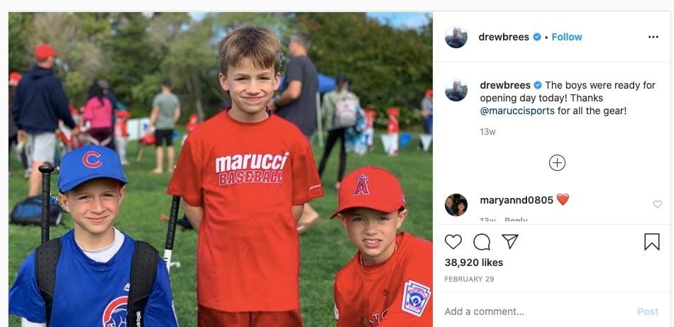Drew Brees Sons