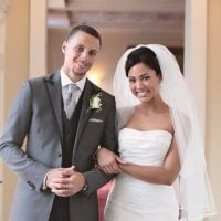 Ayesha Curry Stephen Curry Wedding Picture 200x200