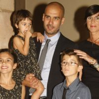 Cristina Serra Pep Guardiola Family Picture 200x200