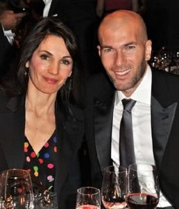 Veronique Zidane Zinedine Zidane