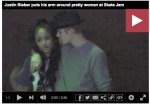 Kayla Phillips Justin Bieber 300x210