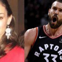 Cristina Blesa NBA Marc Gasol's Wife