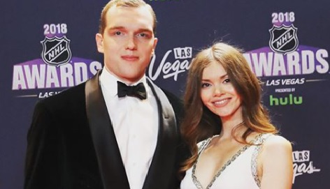 Kseniya Vasilevskaya is the stunning wife of NHL star, Andrei Vasilevskiy -whom you may recognize as a for player for the Tampa Bay Lighting.