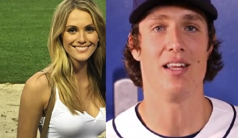 Brooke Register is the gorgeoues girlfriend of MLB player, Tyler Glasnow -a pitcher currently playing wiht the Tampa Bay Rays.