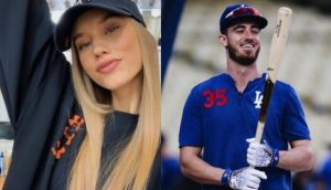 Chase Carter is the stunning lady currently dating MLB player, Cody Bllinger -whom you may recognize for playing with the Los Angeles Dodgers.