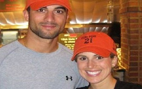 Christina Markakis is the proud wife of MLB player, Nick Markakis -the veteran outfielder currently playing for the Atlanta Braves.