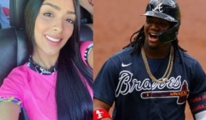 Eva Luccia is the stunning girlfriend of Venezuelan MLB player, Ronald Acuna -who is currently an outfielder for the Atlanta Braves.