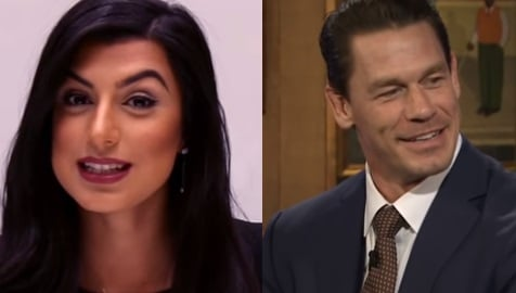 Shay Shariatzadeh is the stunning lady who recently became the wife of none other than John Cena -the WWE legend. The two had a private ceremony in Tampa.