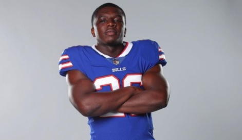 Devin Singletary, the NFL player you know as the starting running back currently playing for the Buffalo Bills -appears to be currently single.