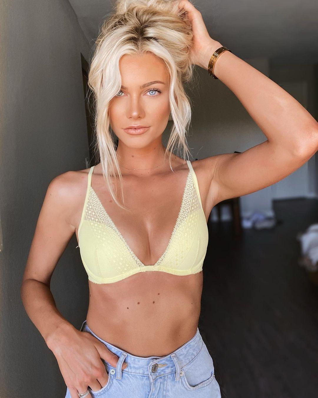 Rylee Jean Kirk Yellow Bikini Top